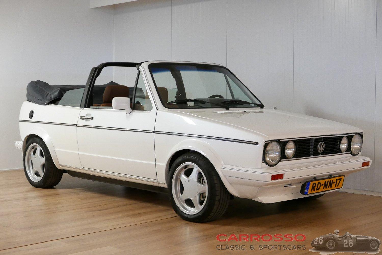 1984  フォルクスワーゲン ゴルフ 1 GLiカブリオレ