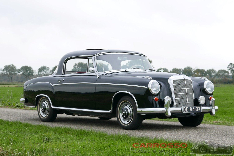 1960 メルセデス ベンツ 220 クーペ