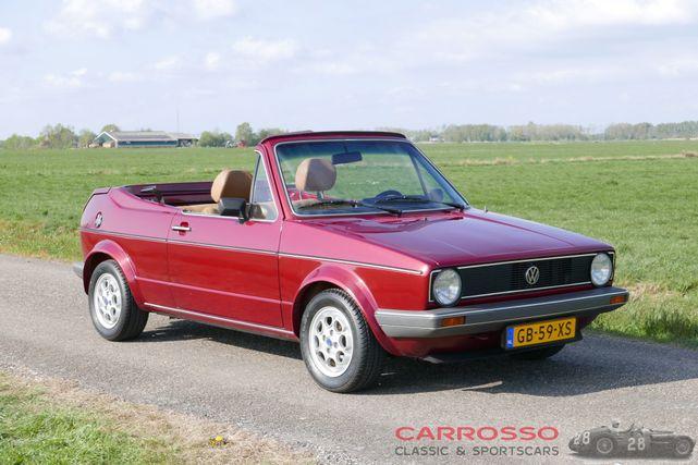 1980 フォルクスワーゲン ゴルフ1 Bieber cabrio